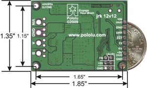Pololu Qik 2s12v10 Dual Serial Motor Controller