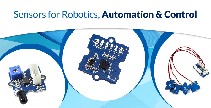 Sensors for Robotics, Automation & Control