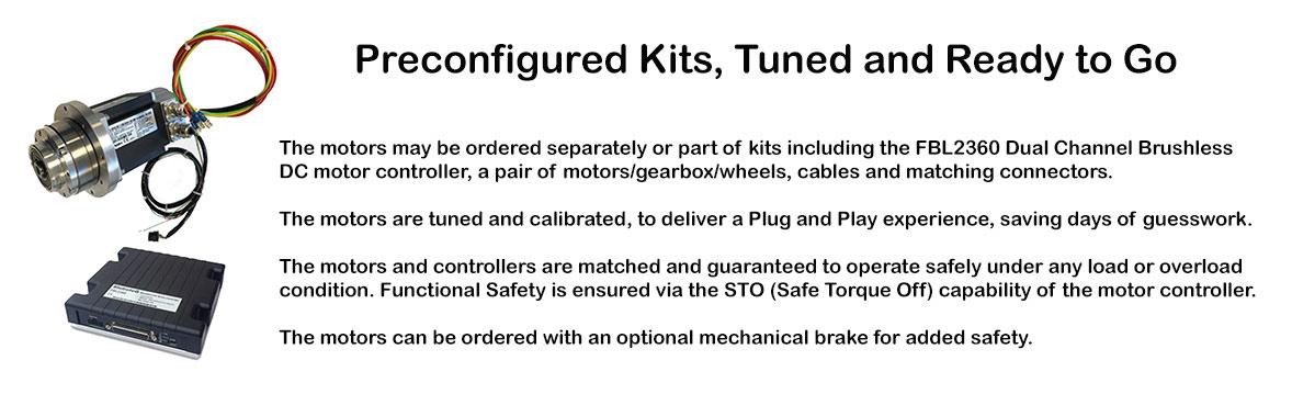 AGV Motor/Controller Kits