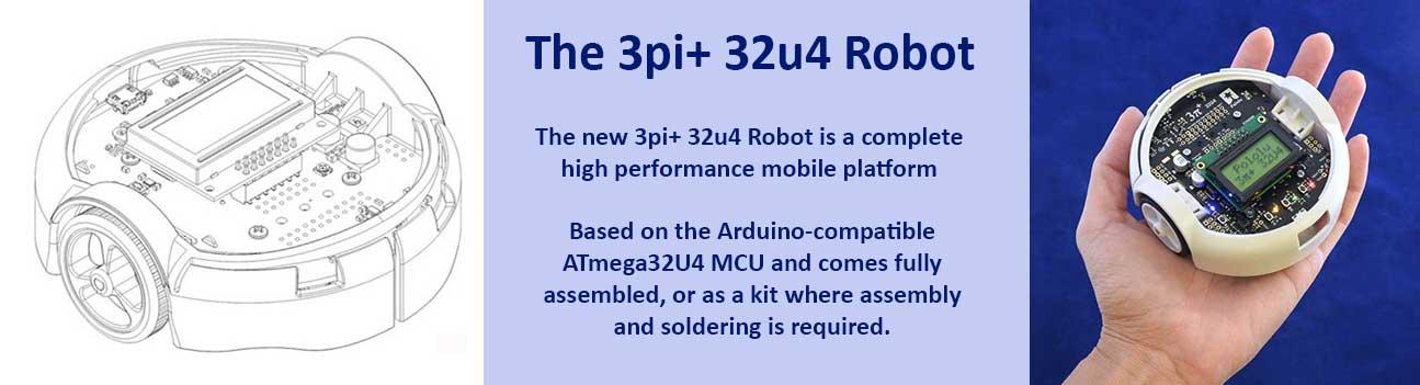 3pi+ 32U4 Robot