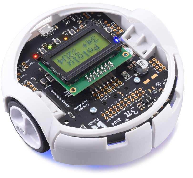 3pi+ 32U4 Robot - Standard Edition (30:1 MP Motors), Assembled