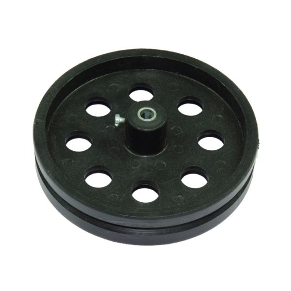 Big Pulley for Tracked Belt 2cm face view