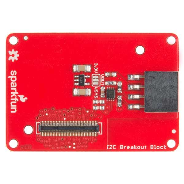 Block for Intel® Edison - I2C Front