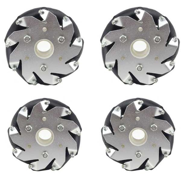 Set of 100mm Mecanum Wheels (4 wheels)