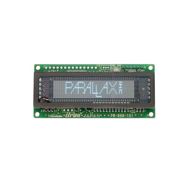 112 x 16 Serial Graphic VFD Display