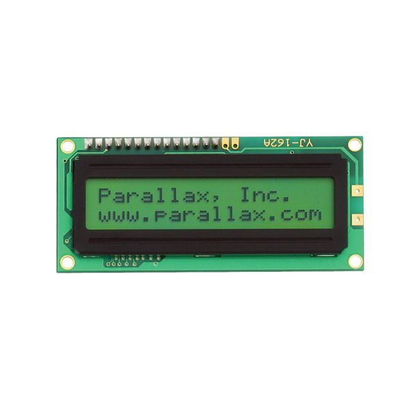 2x16 Serial LCD (Backlit)