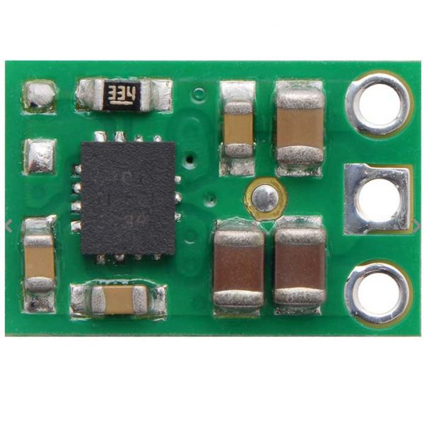 Pololu 5V Step-Up/Step-Down Voltage Regulator S9V11F5 (non-silkscreen side).
