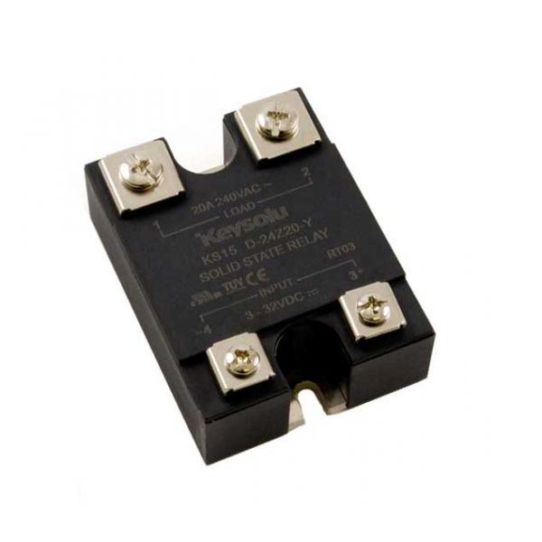 AC Solid State Relay - 280V 20A Zero-Cross Turn-on
