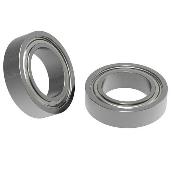 """3/8"""" ID x 5/8"""" OD Non-Flanged Ball Bearing Pack of two"""