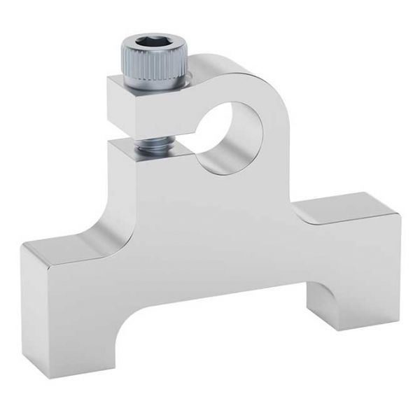 """1/4"""" Bore Bottom Tapped Clamping Mount"""
