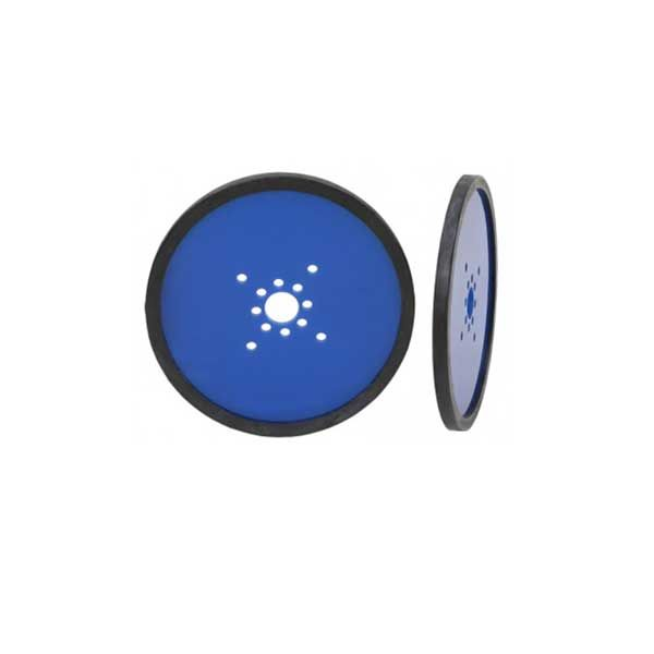 "4.00"" Precision Disk Wheel (2 pack) Blue"