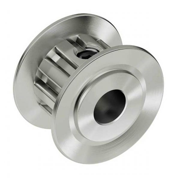 """0.250"""" 10 Tooth Pinion Pulley"""