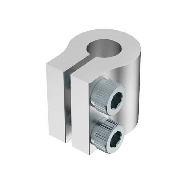 "1/4"" to 8mm Bore Clamping Shaft Coupler"