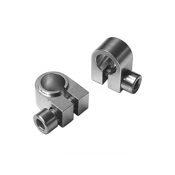 "1/4"" Flanged Aluminium Clamp Collar (2 pack)"