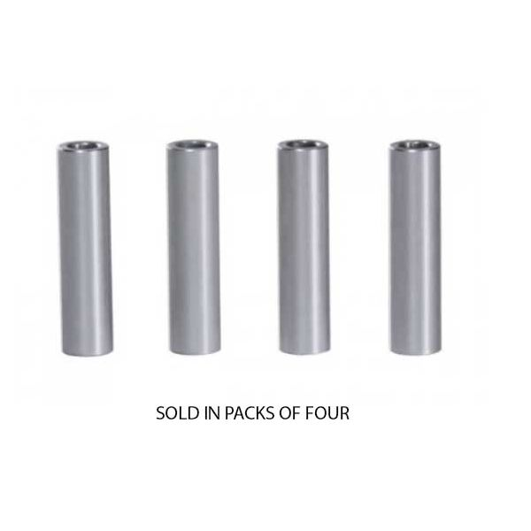 "1/4"" OD Aluminium Spacers for #6 Screw Size pack of 4"