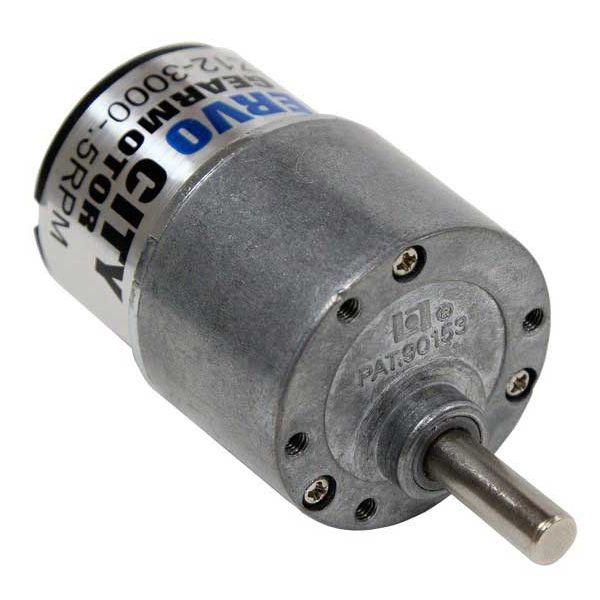 51 RPM Brushed DC Gear Motor