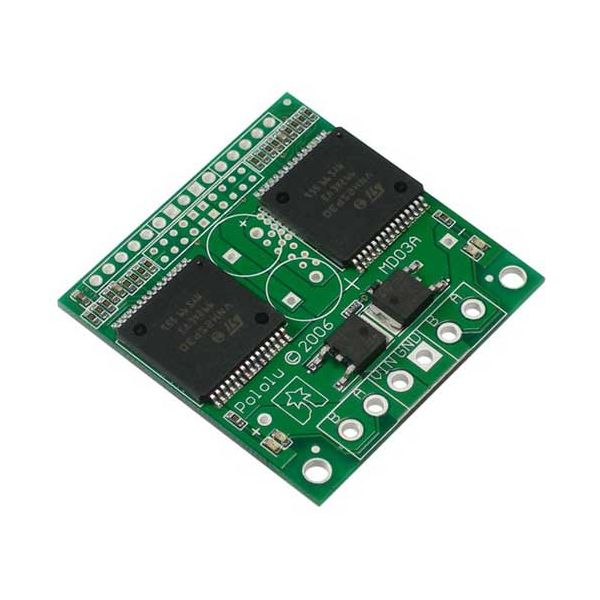 Dual VNH2SP30 Motor Driver Carrier MD03A