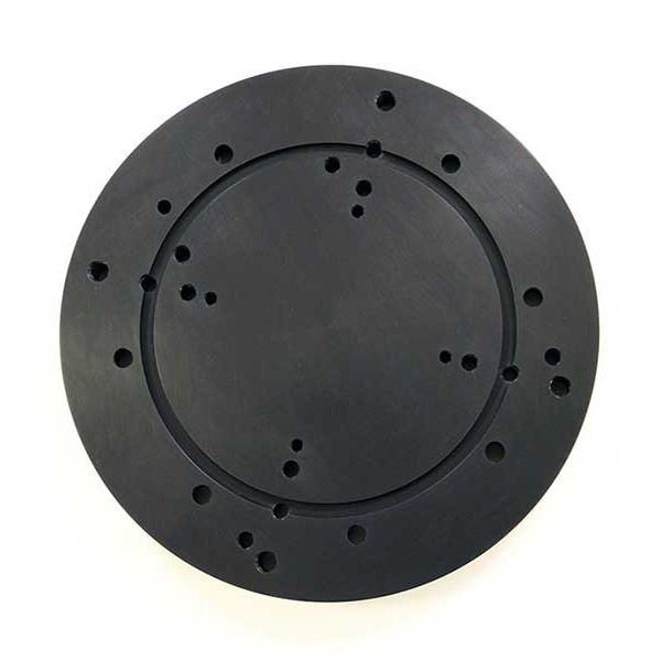 Adapter Plate showing the various mounting holes