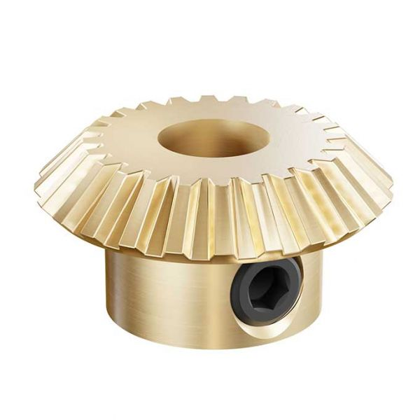 "1/4"" Bore Shaft Mount Bevel Gears - 24 Teeth"