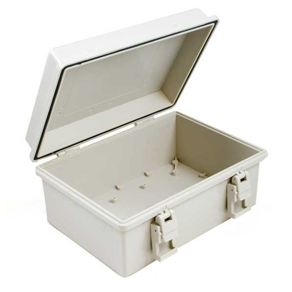 BOX4207_0 Waterproof Enclosure (230x150x85) with Latch