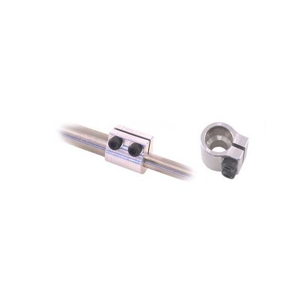 """3/16"""" To 1/4"""" Clamping Shaft Coupler"""