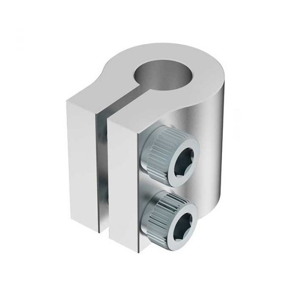 "Clamping Shaft Couplers 0.25"" to 4mm Bore"