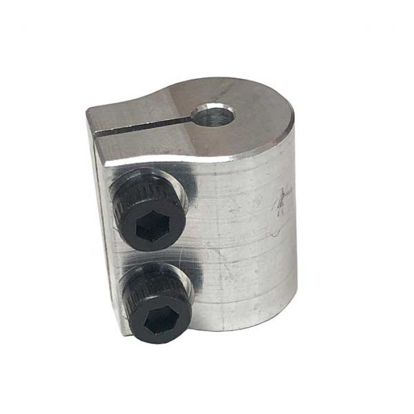 "3/8"" To 3/8"" Clamping Shaft Coupler"