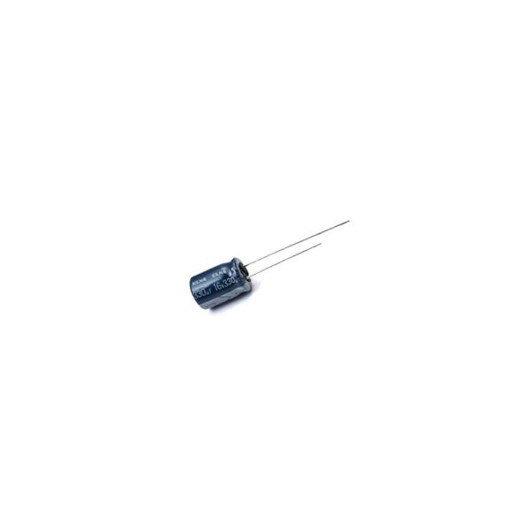 330µF 16v Electrolytic Capacitor