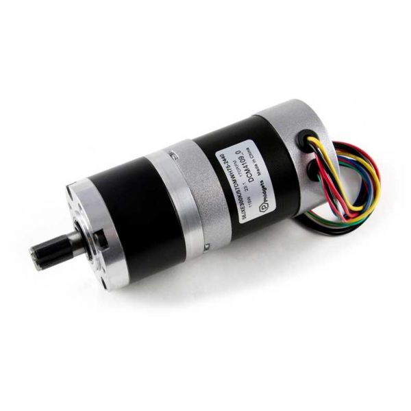 DCM4109 57DMWH75 NEMA23 Brushless Motor with 23:1 Gearbox
