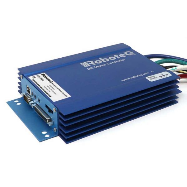 HBL1660 Brushless DC Motor Controller, Single Channel, 1 x 150A, 60V, USB, CAN, Trapezoidal, 8 Dig/Ana IO, Heatsink extrusion