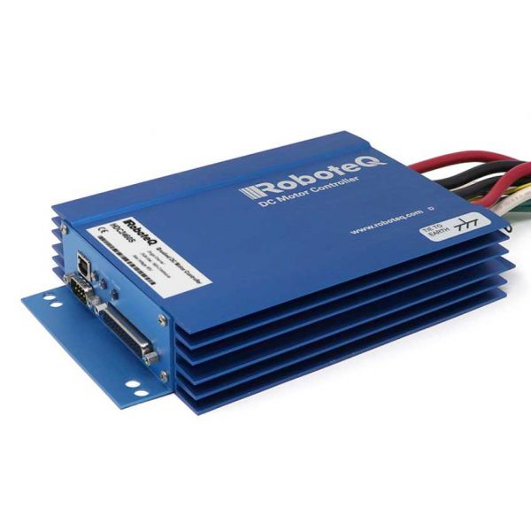 HDC2460S Brushed DC Motor Controller, Single Channel, 1 x 300A, 60V, USB, CAN, 19 Dig/ Ana IO, Heatsink Enclosure
