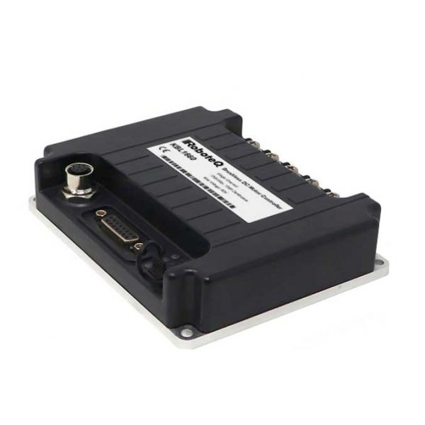 KBL1660 Brushless DC Motor Controller, IP65 dustproof water-tight, Single Channel, 1 x 120A, 60V, USB, CAN, Trapezoidal/Sinusoidal, FOC, 8 Dig/Ana IO, Cooling plate with ABS cover