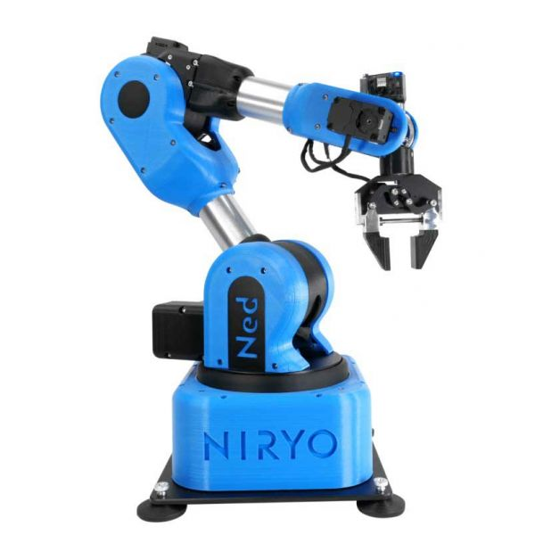 NED Robot Arm  is designed for use in educational and research establishments. A Cobot based on Ubuntu and ROS designed for robotics A collaborative 6-axis robot based on open-source technologies.