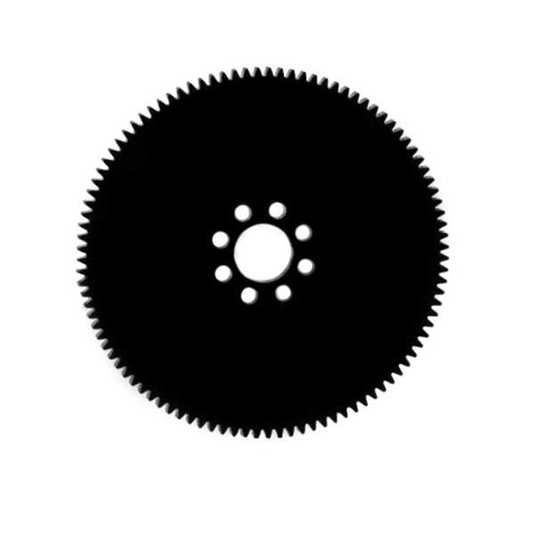 """32 Pitch Acetyl Hub Mount Spur Gears (3/16"""" Face)"""