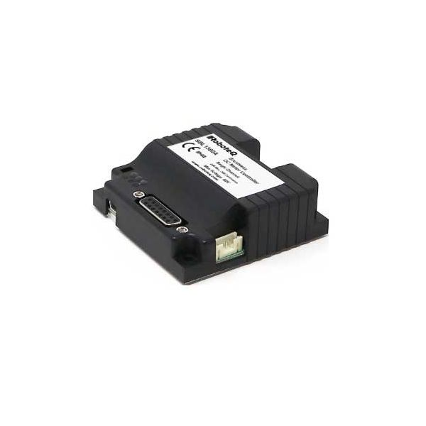 SBL1360A  Brushless DC Motor Controller, Single Channel, 30A, 60V, USB, CAN, Trapezoidal/Sinusoidal, FOC, 8 Dig/Ana IO, Cooling plate