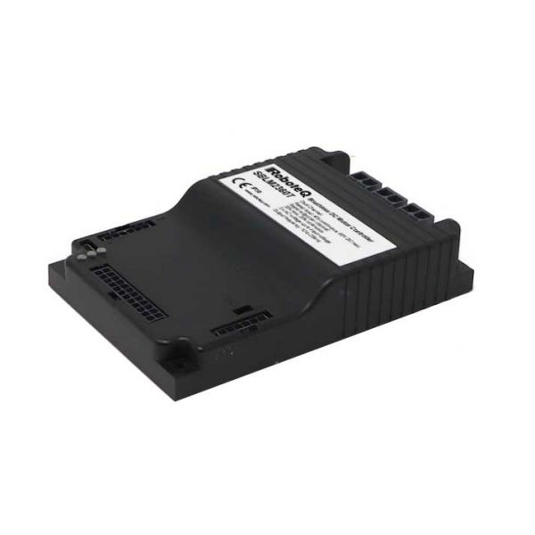 Brushless DC Motor Controller, Dual Channel, 2 x 30A, 60V, USB, CAN, Trapezoidal/Sinusoidal, FOC, 14 Dig/Ana IO, Molex Connectors, STO, Cooling plate