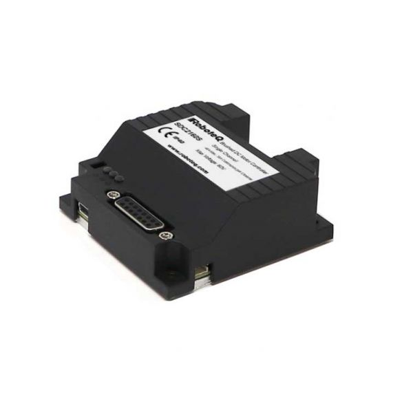 SDC2160S Brushed DC Motor Controller, Single Channel, 1 x 40A, 60V, USB, CAN, 8 Dig/Ana IO, Cooling plate with ABS cover