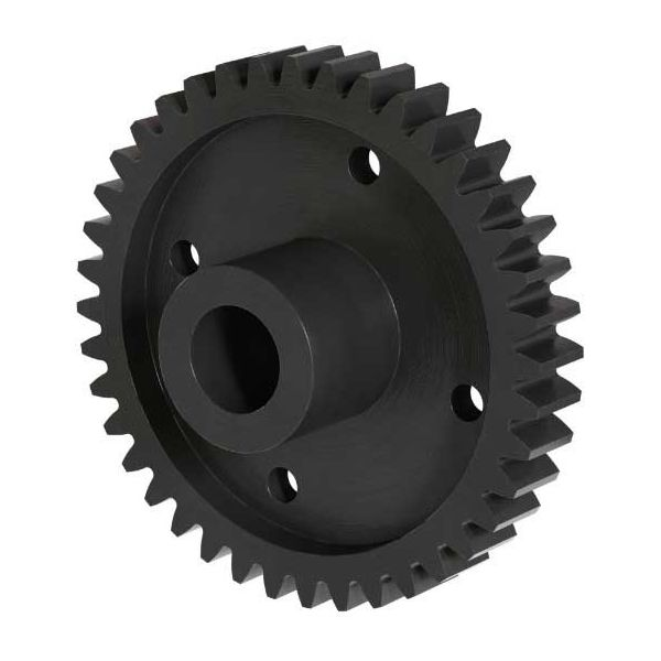 "32P, 40T, 0.250"" (1/4) Bore, Plain Bore Gear (Delrin)"