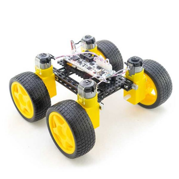 TOTEM DIY SMARTPHONE BLUETOOTH CONTROLLED 4WD CAR CHASSIS KIT
