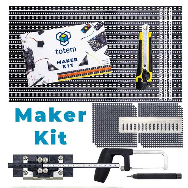 TOTEM Maker Kit complete with included tools