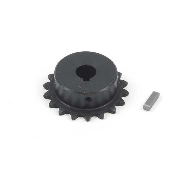 TRM4136_0 #25 Chain Sprocket with 9mm Bore and 18 Teeth
