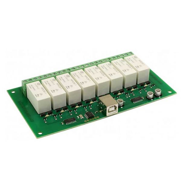 USB-RLY16L - 8 x 16A latching relay