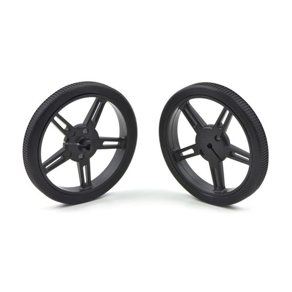 Pololu Wheel 60x8mm Pair-Black