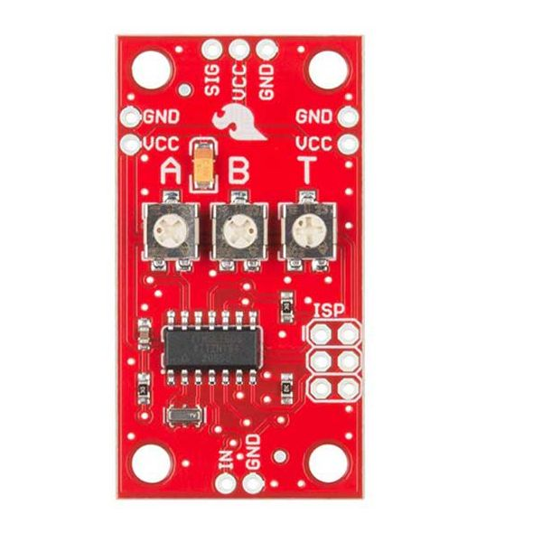 SparkFun Servo Trigger top down view