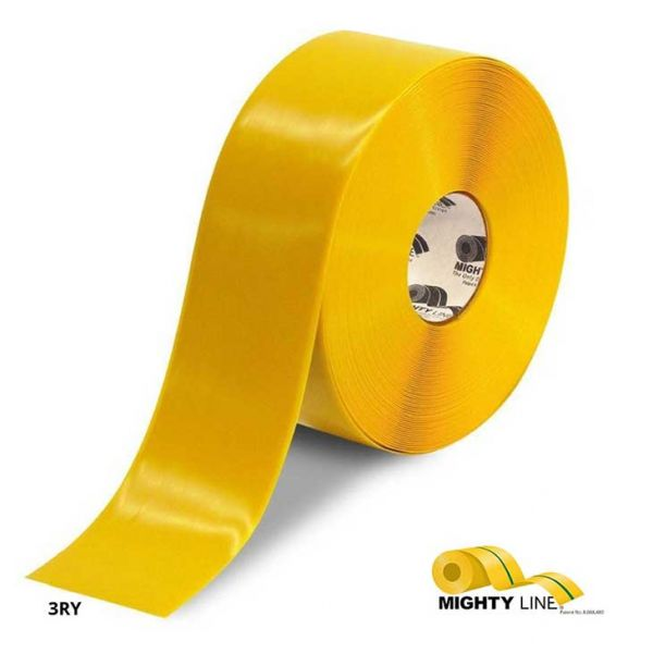 Mighty Line 4 inch Yellow