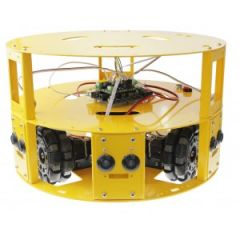 3WD 100mm Omni Wheel Robot Kit