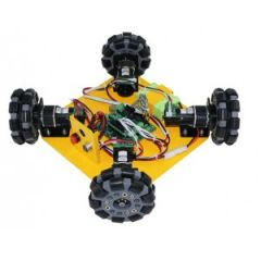 4WD 100mm Omni Wheel Learning Kit