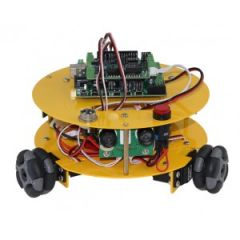 3WD 48mm Omni Wheel Robot Kit