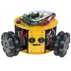 3WD 100mm Omni Wheel Mini Robot Kit  10016