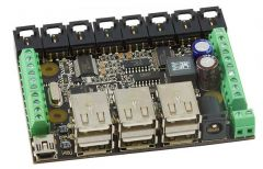 1019_1B Phidget Interface 8/8/8 w/6 Port Hub